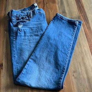 Gap jeans 33L Real Straight